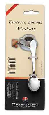 Windsor Pack of 4 Stainless Steel Espresso Spoons
