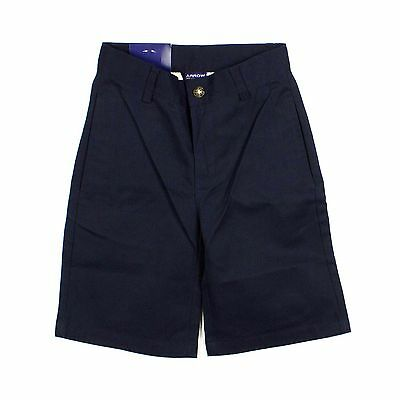 NEW Boys Arrow Approved Schoolwear Uniform Shorts SIZE 7 Navy Blue