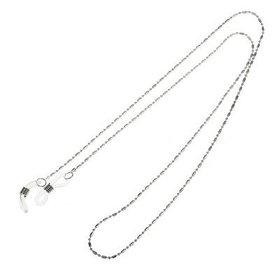 Glasses Holder Neck Strap Cord Metal Chain for Spectacles Sunglasses Silver
