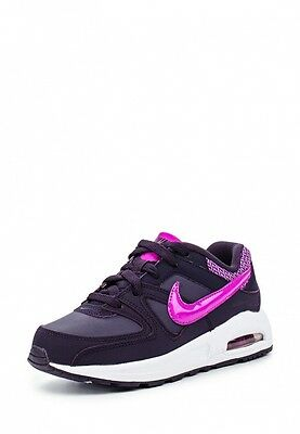 Scarpe sportive bambina NIKE Air Max Command PS in pelle viola 844356-551