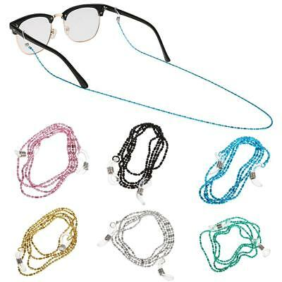 Reading Glasses Sunglasses Glasses Spectacles Holder Neck Cord Metal Strap Chain