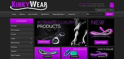 Adult Lingerie & Products Website Business For Sale
