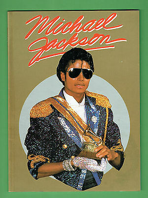 #t20.  1984 Michael Jackson  Pictorial Book