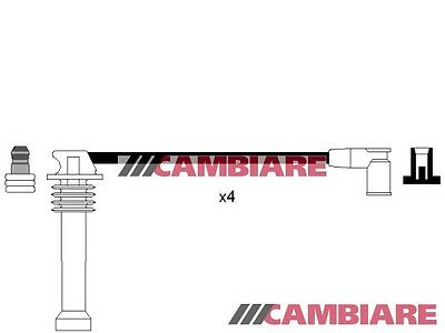 HT Leads Ignition Cables Set fits MAZDA 6 1.8,2.0,2.3 VE522000 Cambiare New