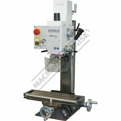 Mini Mill Drill - Geared & Tilting Head Part No = BF-16V