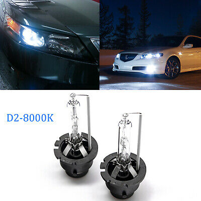 2x 8000K Blue D2R D2S HID OEM Headlight Low Beam Bulbs Replacement for Lexus NEW