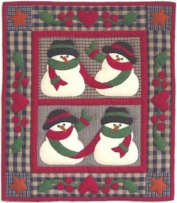 SNOW FRIENDS Wall Quilt KIT - Rachel's of Greenfield