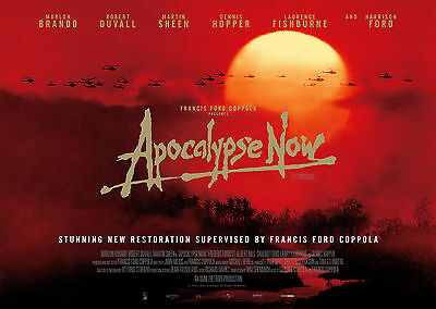 Apocalypse Now (1979) - A1/A2 POSTER **BUY ANY 2 AND GET 1 FREE OFFER**