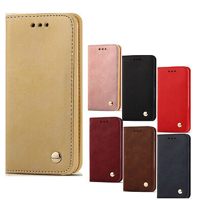 New Wallet Flip PU Leather Phone Case Cover For Apple iPhone 7 7 Plus 6s 6 Plus