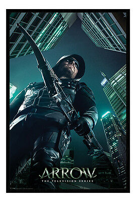 Framed Arrow TV Series Legacy Poster New