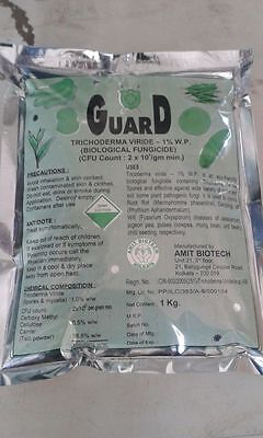 GUARD trichoderma viride certified organic root rot disease control -FRESH