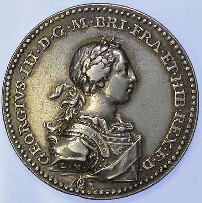 George III - 1761 Coronation medal by L Natter