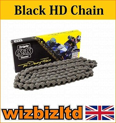 Black Heavy Duty Motorcycle Chain Yamaha WR125 R-Y,Z,A,B,D,E 2009-14 CHH428134
