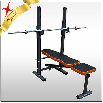 Display - Home Gym Bench Press & Weight Bench - Exercise Fitness Equipment