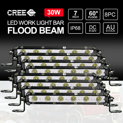 "9"" inch 200W HID Driving Lights Xenon Spotlights Off Road 4X4WD UTE Truck 12V"