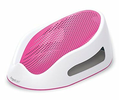Angelcare Bath Support Pink Baby Comfort and Safety Water to Drain Easily New