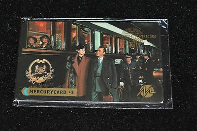 UK MERCURY PHONECARD £2: Orient-Express - MINT CONDITION & SEALED