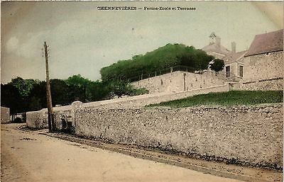 CPA Chennevieres - Ferme Ecole (275501)
