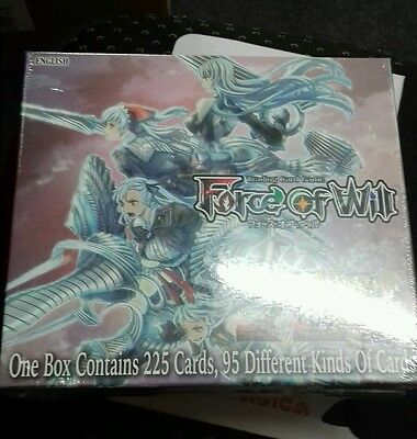 Force of Will Vingolf 2 Box. Valkyria Chronicles. Factory Sealed.