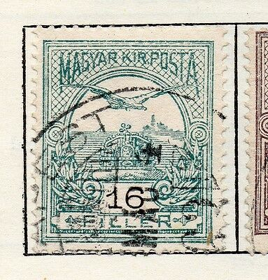 Hungary 1905 Early Issue Fine Used 16f. 098764