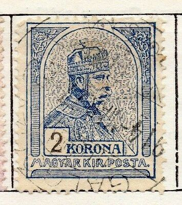 Hungary 1905 Early Issue Fine Used 2kr. 098772