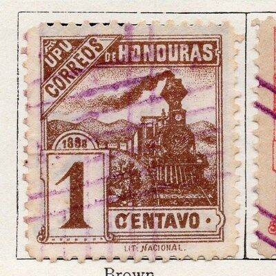Honduras 1898 Early Issue Fine Used 1c. 098797