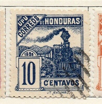 Honduras 1898 Early Issue Fine Used 10c. 098801