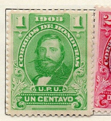 Honduras 1903 Early Issue Fine Mint Hinged 1c. 098805
