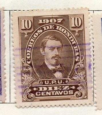 Honduras 1907 Early Issue Fine Used 10c. 098817