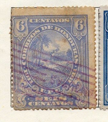 Honduras 1911 Early Issue Fine Used 6c. 098825