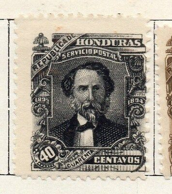 Honduras 1893 Early Issue Fine Mint Hinged 40c. 098838