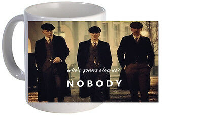 Peaky Blinders Brothers Quote Mug. Brand New.