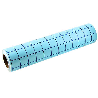 12 in X 30ft Roll of Clear Application Transfer Tape W/Easy Alignment Grid V0803