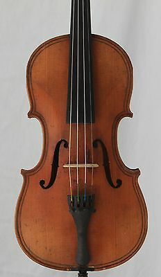 Nice old antique 4/4 Violin Maggini Possibly American maker Long Pattern 368mm