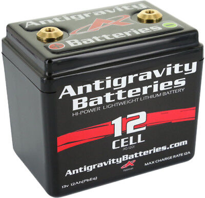 Antigravity Batteries AG1201 12 Cell Lithium Ion Small Case Motorcycle AG-1201