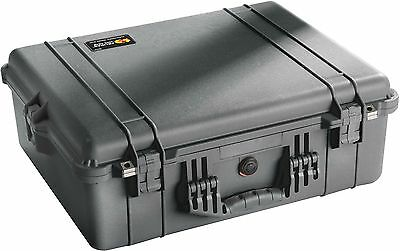 Pelican 1600 Case with Foam for Camera (Black) Brand New!