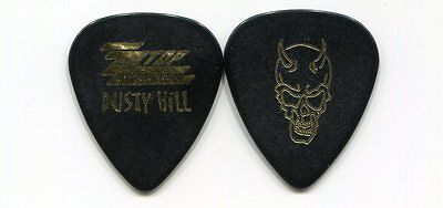 ZZ TOP 2010 Tour Guitar Pick!!! DUSTY HILL custom concert stage Pick #2 DEVIL
