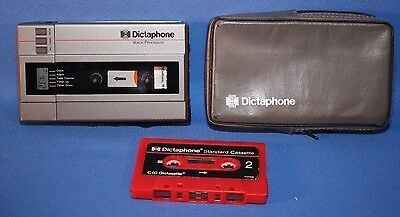 Working Dictaphone Voice Processor - Uses Full Size Cassettes - 2253