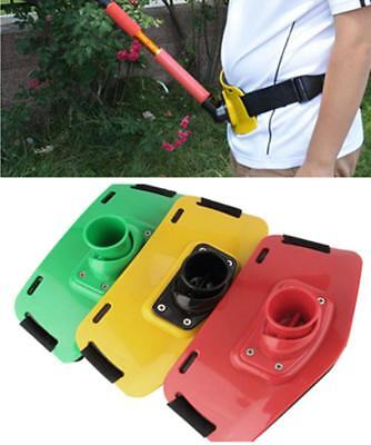 Stand Up Fishing Waist Gimbal Pad Fighting Belt Fishing Rod Holder