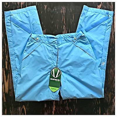 New! Sunice Golf Typhoon Addison Waterproof Pants Sky Blue Woman's  M