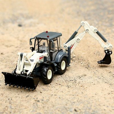 KAIDIWEI 1/50 Scale Diecast Backhoe Forklift Truck Construction Toys Model