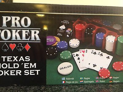 Texas Holdem Poker set / ProPoker