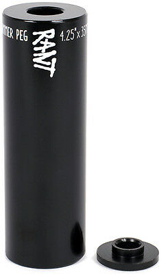 Rant Hammer Steel 14Mm Bmx Stunt Peg Black