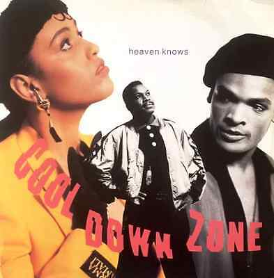"""COOL DOWN ZONE - Heaven Knows (12"""") (G+/VG-)"""