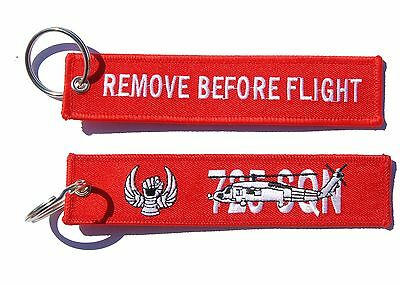 725 Squadron Seahawk Romeo Remove Before Flight Key Ring Luggage Tag