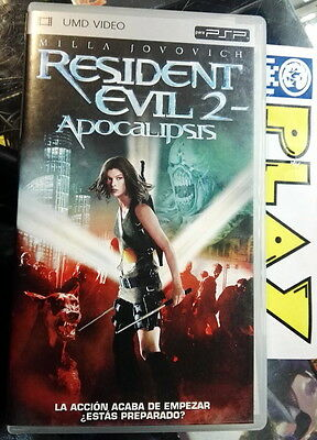 Resident Evil 2 Ii Apocalipsis Umd Video Movie Pelicula Español Milla Jovovich
