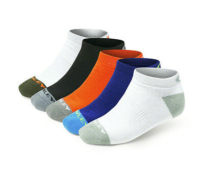 NEW Oakley Performance Basic Low Cut Assorted Colors Men's Size 5-9.5 (M) 5 Pack