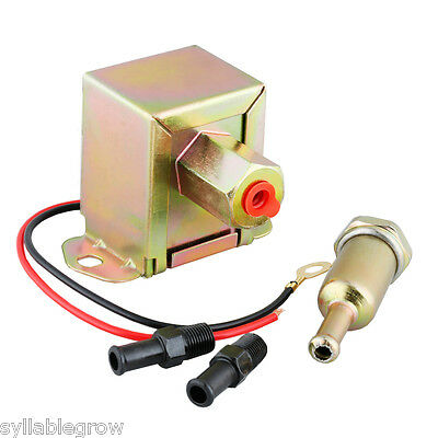 12V Fuel Pump Bomba Combustible Eléctrica Gasolina Diesel Universal for Coche