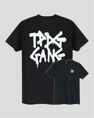 TPDG Gang T-Shirt | black schwarz | Backprint Skateboard Skate | S - XL