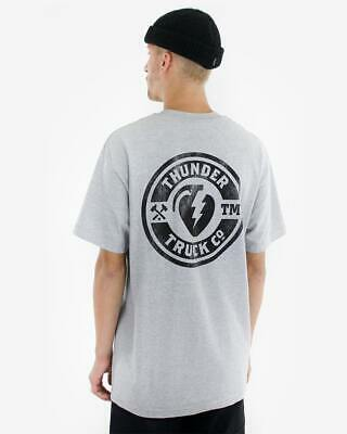 Thunder Trucks Mainline Pocket T-Shirt | heathergrey grau | Backprint | S - XL